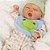 Bebê Reborn 44cm Sleepy Frog Paradise Galleries - Pronta Entrega! - Imagem 3