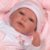 Bebê Reborn 40cm com Olhos Abertos Baby Brink Original - Pronta Entrega! - Imagem 4