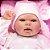 Bebê Reborn 40cm com Olhos Abertos Baby Brink Original - Pronta Entrega! - Imagem 5