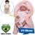 Bebê Reborn 40cm com Olhos Abertos Baby Brink Original - Pronta Entrega! - Imagem 1