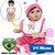 Bebê Reborn Daniela em 3/4 Silicone 42cm - Pronta Entrega! - Imagem 1