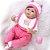 Bebê Reborn Daniela em 3/4 Silicone 42cm - Pronta Entrega! - Imagem 2