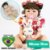 Bebê Reborn Sophia Silicone 55cm com Coelho Pelúcia - Pronta Entrega! - Imagem 1