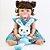 Bebê Reborn Letícia 55cm em Silicone com Coelhinho - Pronta Entrega! - Imagem 3
