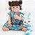 Bebê Reborn Letícia 55cm em Silicone com Coelhinho - Pronta Entrega! - Imagem 5