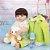 Bebê Reborn Lucas 55cm com Jaqueta de Dinossauro - Imagem 7