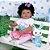 Bebê Reborn Mariele 55cm com Lindo Coelhinho - Imagem 2