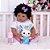 Bebê Reborn Mariele 55cm com Lindo Coelhinho - Imagem 6