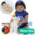 Bebê Reborn Carlos 55cm Enxoval de Basquete 23 Sports - Imagem 1