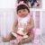 Bebê Reborn Luiza 55cm Corpinho Inteiro em Silicone - Imagem 2