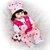 Bebê Reborn Luana 48cm Toda em Silicone com Girafinha - Imagem 2
