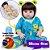 Bebê Reborn Jefferson 48cm Todo em Silicone com Enxoval de Sapinho - Imagem 1