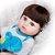 Bebê Reborn Jefferson 48cm Todo em Silicone com Enxoval de Sapinho - Imagem 7