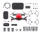 Drone Dji Mavic Air Flame Red Fly More Combo - Imagem 1