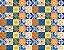 Adesivo Azulejo Azul - Imagem 1