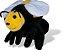 Luva Fantoche Abelha - Imagem 1