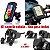 Kit Com Suporte De Celular + Adaptador 12v-5v Usb Para Moto - Imagem 1
