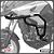 Protetor Motor Carenagem Honda Nc700x Nc750x 2013+ Prata Sptap061 - Imagem 1
