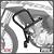 Protetor Motor Carenagem Honda Bros160 2015+ Scam Spto439 - Imagem 1