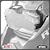 Protetor de Farol Policarbonato BMW R1200gs Advent 2013+ Scam Spto301 - Imagem 1
