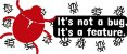 Caneca programador - It's not a bug. It's a feature - Imagem 4