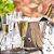Jogo Taças Champanhe Cristal Titânio Ivana 6 Unidades - Imagem 1