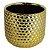 Vaso Cerâmica Dourado - 10cm - Imagem 1