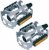Pedal FEIMIM MTB Alumínio 9/16 FP-961 Prata - Imagem 1