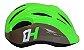 Capacete HIGH ONE Bike Infantil Piccolo New Verde/Cinza - Tam. M - Imagem 4