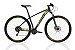 Bicicleta OGGI Big Wheel 7.0 Aro 29/21V Preto/Amarelo/ Azul - Tam. 17 - Imagem 1
