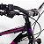Bicicleta RAVA Nina Aro 29/24V Preto/Rosa - Tam. 15 - Imagem 3