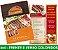 CARDÁPIO PLASTIFICADO - Frente e Verso Coloridos - 4x4 - Tamanho A4 - Papel Couche170g - Imagem 2