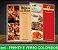 CARDÁPIO PLASTIFICADO - Frente e Verso Coloridos - 4x4 - Tamanho A4 - Papel Couche170g - Imagem 4