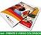 5.000 PANFLETOS 10x15cm - Frente e Verso Coloridos - 4x4 - Papel Couche 115g - Imagem 3
