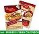 5.000 PANFLETOS 10x15cm - Frente e Verso Coloridos - 4x4 - Papel Couche 115g - Imagem 5