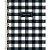 CADERNO UNIV.CD 1X1 COLEG WEST VILLAGE 80F - Imagem 1