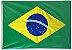 BANDEIRA BRASIL TECIDO 85X140 SEM HASTE REF.15103 - Imagem 1