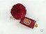 Chaveiro Porta Alcool Gel personalizado com pompom - Imagem 1