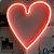 Luminária neon Coração - Imagem 1