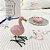 Mini flamingo decorativo - Imagem 3