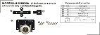Perfil - Sistema deslizante para armário - PERFIPLUS - Até 60 Kg - Kit Sobrepor - Imagem 1