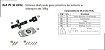 Perfil - Sistema deslizante para armário - PF 30 GMU - Embutir e sobrepor até 30kg - Imagem 1