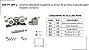Perfil - Sistema deslizante suspenso - PF 100 C - p/ porta de armário e de passagem Roldana côncava - Imagem 1