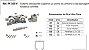 Perfil - Sistema deslizante suspenso- PF 100 V - p/ porta de armário e de passagem Roldana convexa - Imagem 1