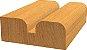 Bosch - Fresa Borda Decorativa - 25,4 x 14 x 6mm - Raio 6,3 - Imagem 4