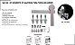 PERFIL - Kit Aparente p/ Porta de Correr 2m - KA E - Alumínio - Escovado - Imagem 1