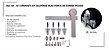 PERFIL - Kit Aparente p/ Porta de Correr 2m - KA P - Alumínio - Polido - Imagem 1