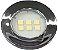Artetílica Nuze - Luminária Pontual Circular - 6 Super LED 3000K - 110/220V Cromado - E315.C - Imagem 1