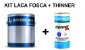 Sayerlack - KIT Laca Nitro Branca Fosca (3,6L) + Thinner - Imagem 1