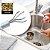 GOLDLINE - Drain Cleaner - Desentupidor Flexível de Drenos e Ralos - Imagem 2